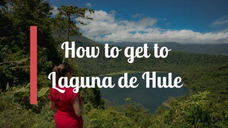 How to get to Laguna de Hule