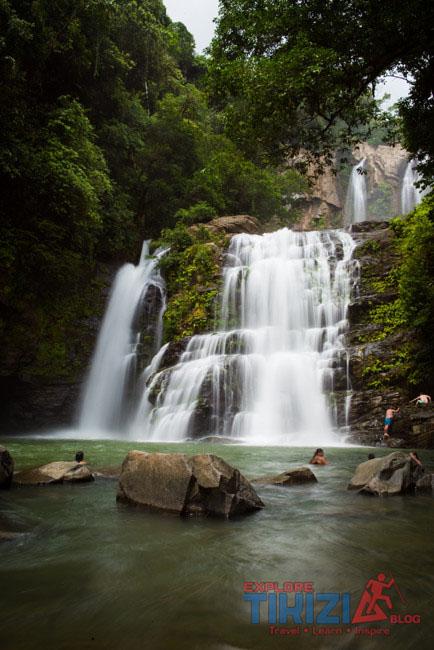 nauyaca lower waterfalls
