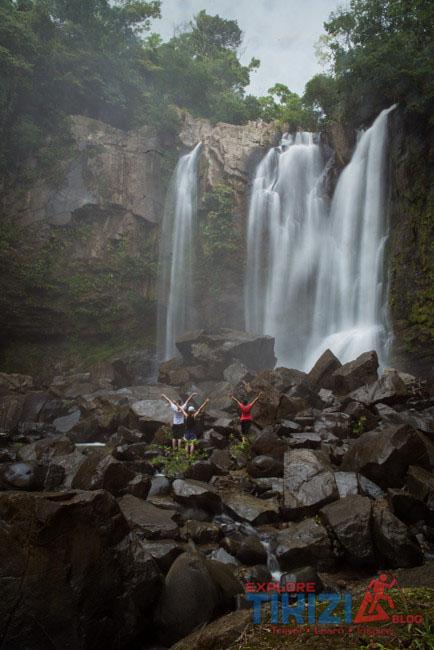 nauyaca waterfall upper one