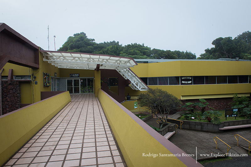 Main building at Poas Volcano