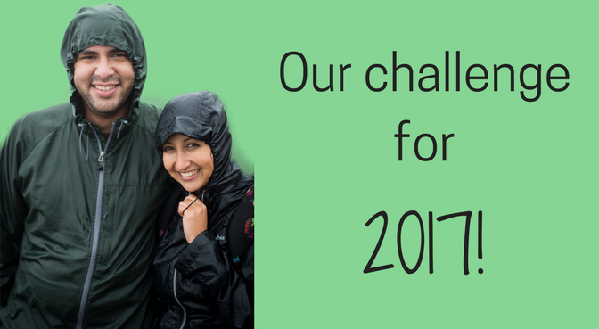 Blog experiment #1: Our challenge for this 2017 is: Hike The C …!