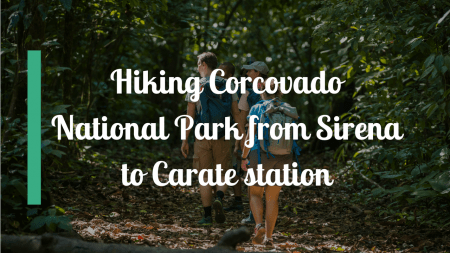 Hiking Corcovado National Park from Sirena to Carate station