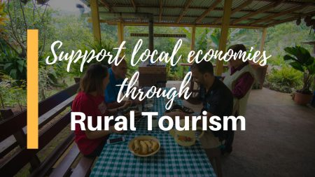 Support local economies through rural tourism