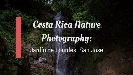 Costa Rica Nature Photography: Jardín de Lourdes, San Jose